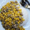 Garlicky Pork and Corn Stir Fry