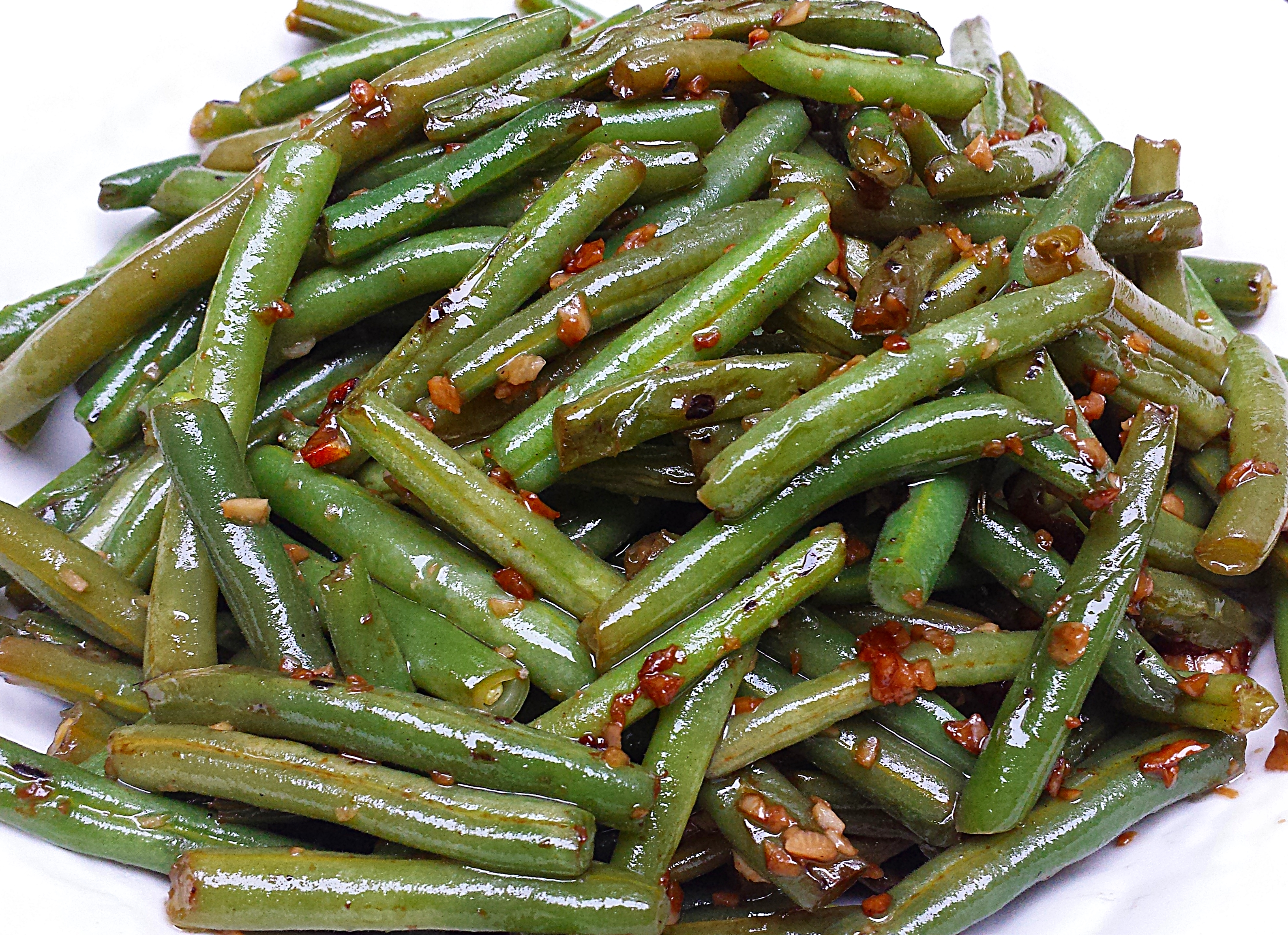 Easy Perfect Green Beans - Chinese Foody